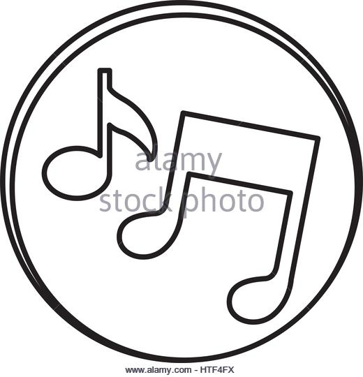 520x540 Music Note Symbol Icon Vector Stock Photos Amp Music Note Symbol