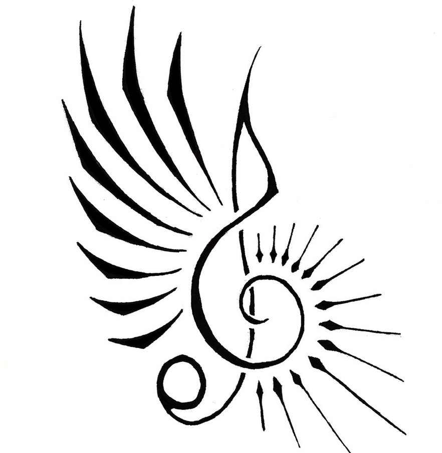 882x905 Music Note By Aeroblade88 On Pretty Music Notes