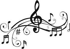 236x167 Large Printable Music Notes