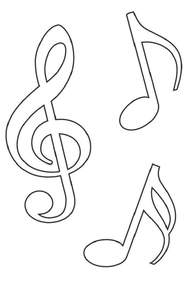 641x948 Templates Music Notes Templates Pictures Templates