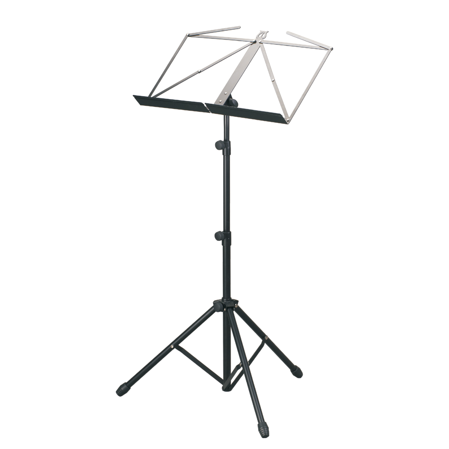 1500x1500 Mus007 Light Folding Music Stand With Bag (Heavier Duty)