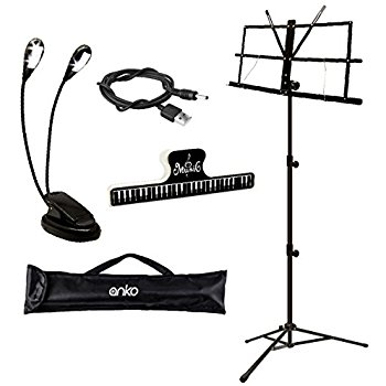 350x350 Music Stand, Kasonic Professional Collapsible Music
