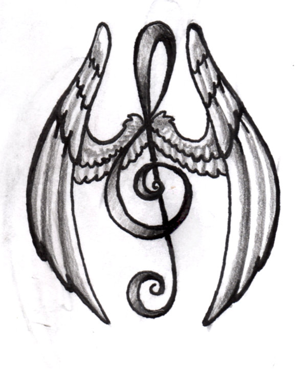 Music Symbols Drawing