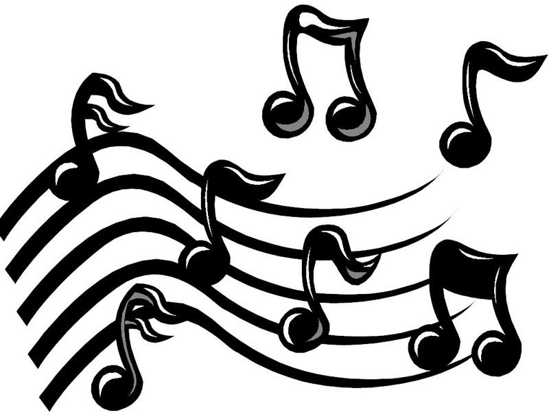 800x610 Music Score Clipart
