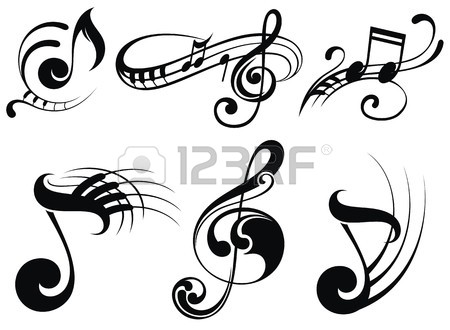450x330 Music Symbols Stock Photos. Royalty Free Business Images