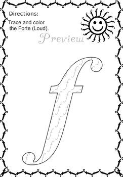 243x350 Music Tracing Sheets Music Symbols, Fun Activities And Worksheets
