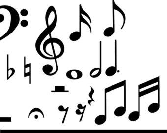 340x270 Music Symbols Etsy