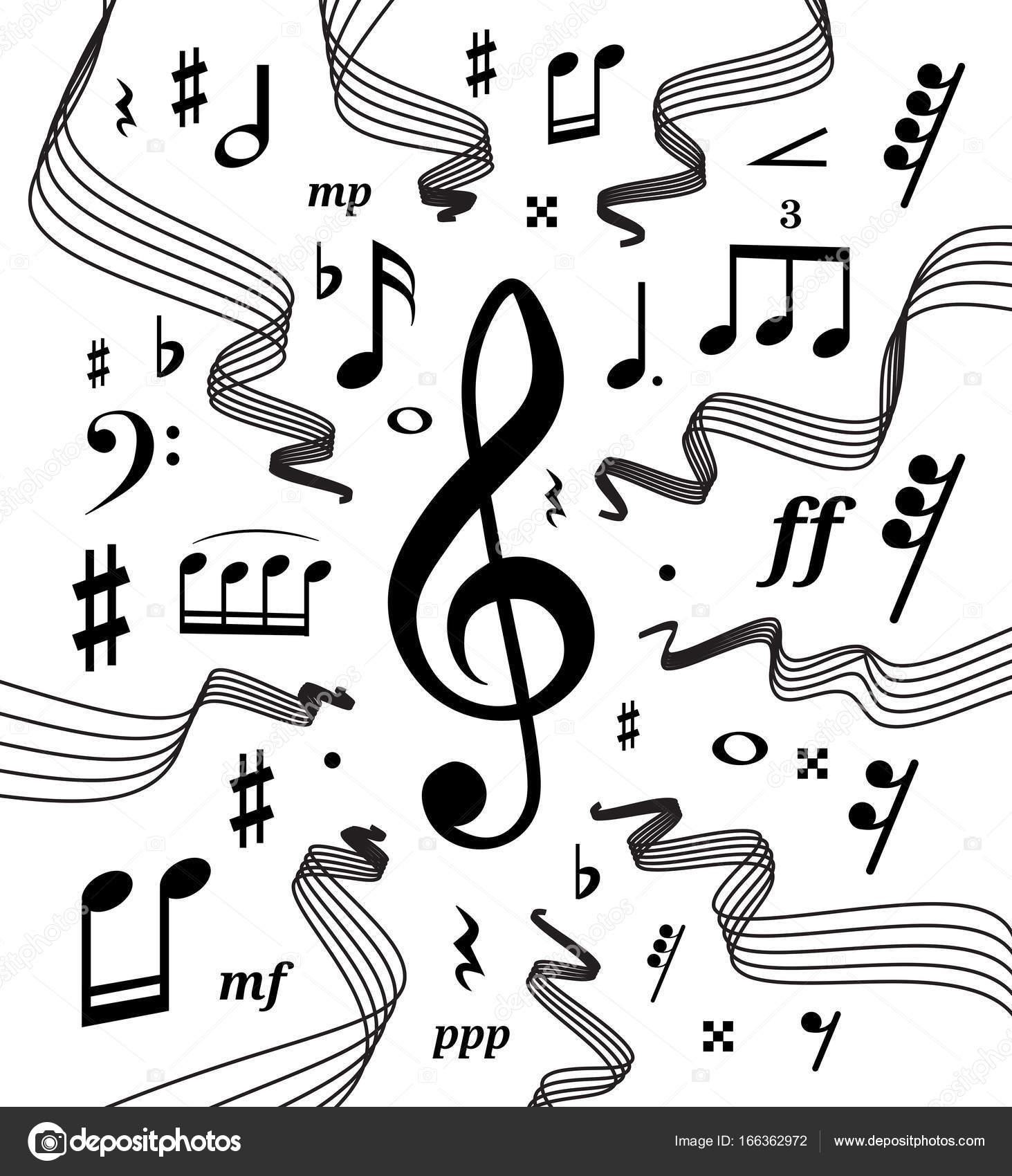 music symbols drawing at getdrawings com