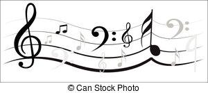 300x134 Ornamental Music Notes Vector Clip Art Illustrations. 155