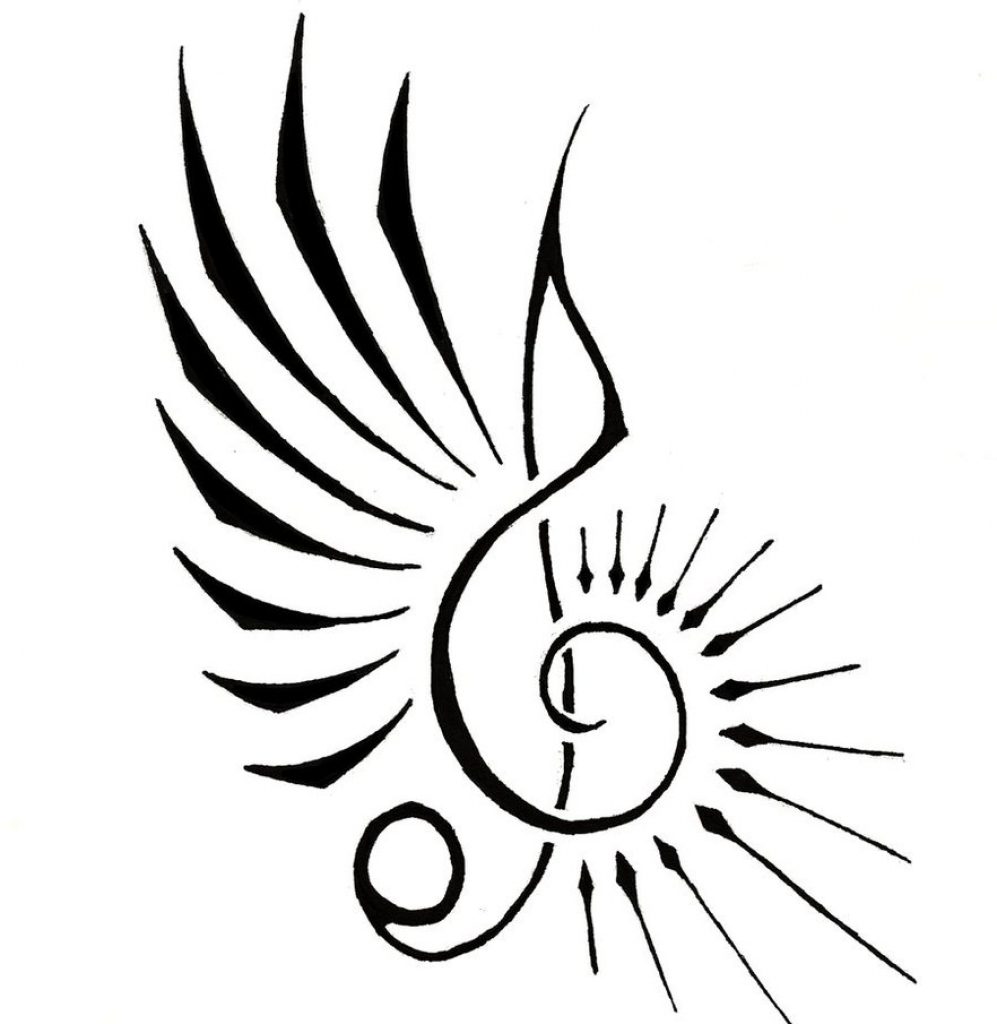 997x1024 Cool Music Notes Group