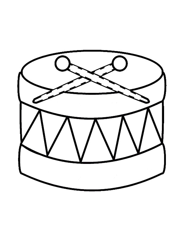 600x800 Instrument Coloring Pages