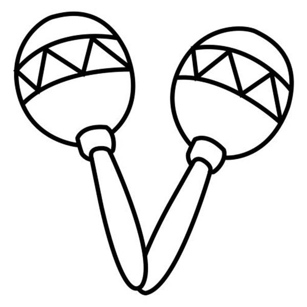 percussion instruments coloring pages - photo#13