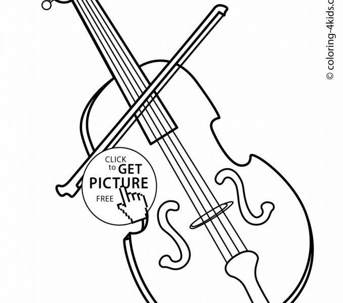678x600 Free Coloring Pages Of Musical Instruments 30 On Line Drawings