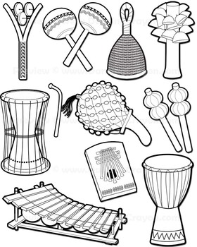 280x350 Musical Instruments African Instruments Clip Art By Dancing