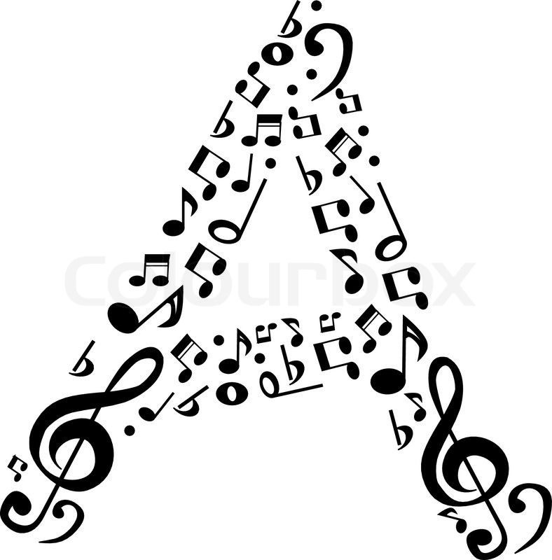 Musical Note Drawing