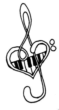 236x439 Drawn Piano Music Note