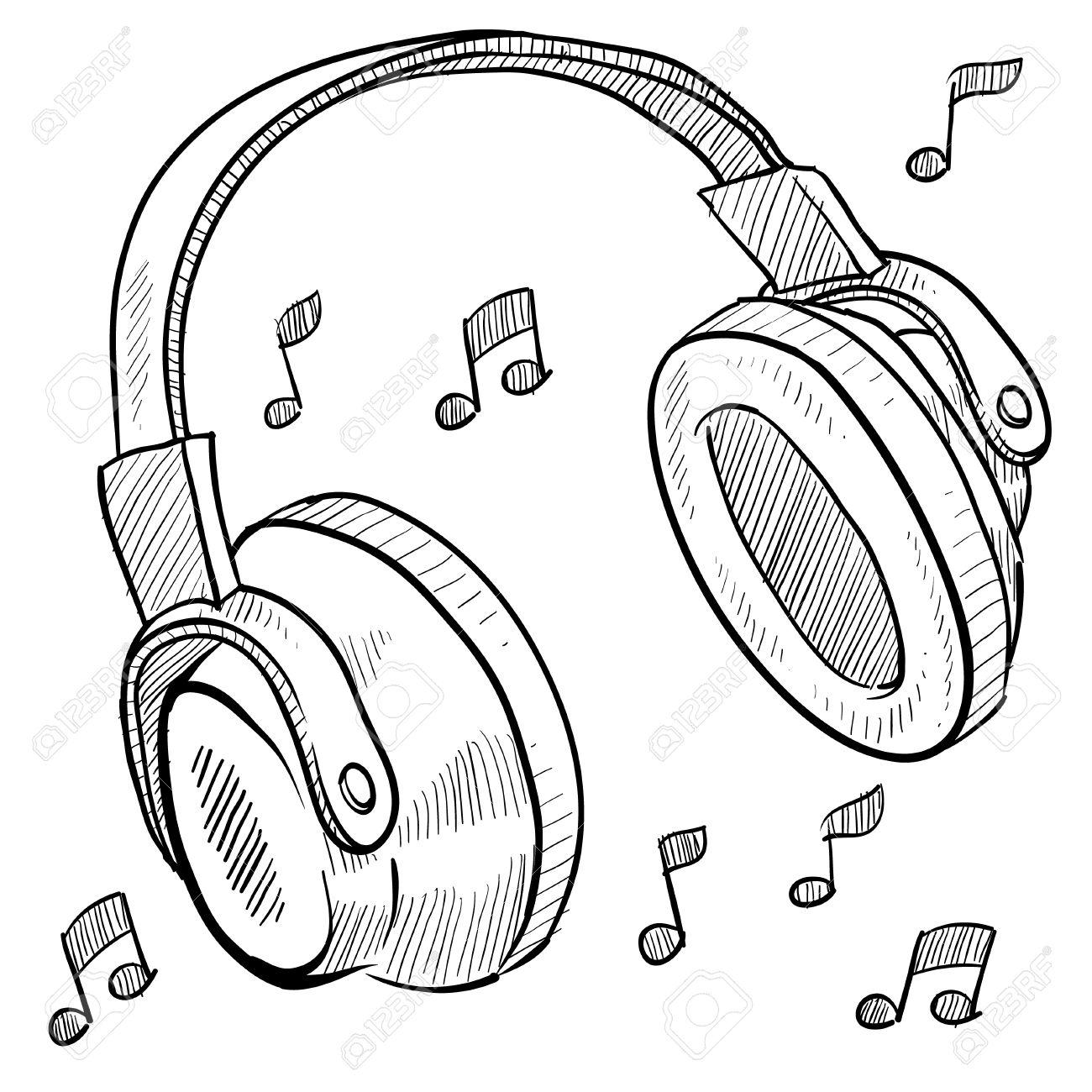 1300x1300 Beats Clipart Headphone Music Note