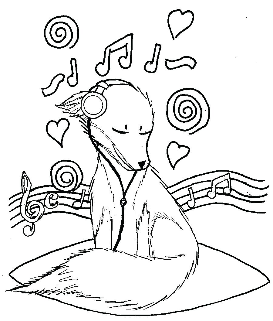 900x1057 Drawings Of Music Notes Library Coloring Pages For Adults Note
