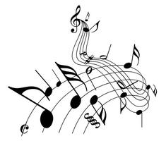 235x200 Music Notes Free Vector Art