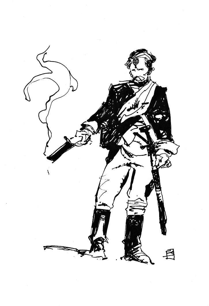 725x1061 Musket By Jeffrey Catherine Jones, In Brian Coppola'S