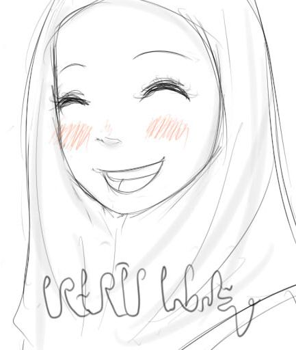 433x512 cute muslim girl by mellamelfran on deviantart
