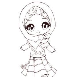 Muslim Women Drawing