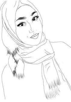 236x336 Hijab Drawing