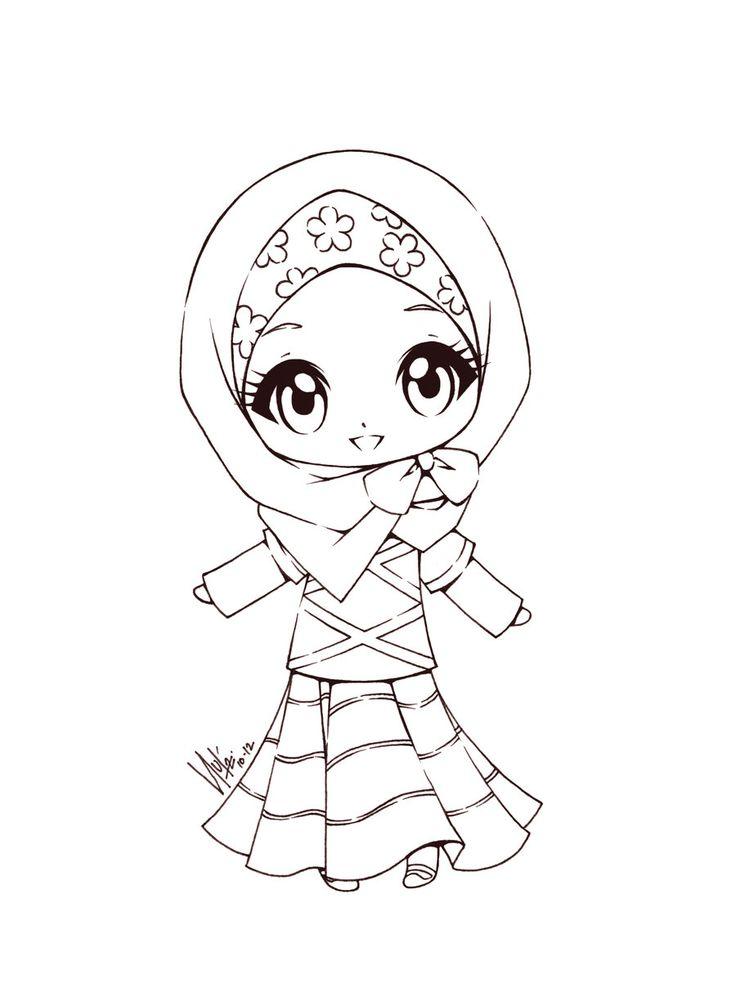 736x1001 Coloring Islam Craft