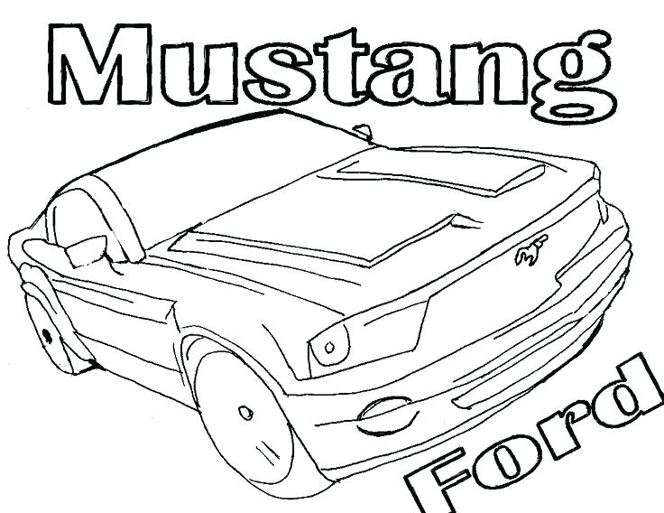 736x568 Mustang Car Coloring Pages Here Are Mustang Coloring Pages