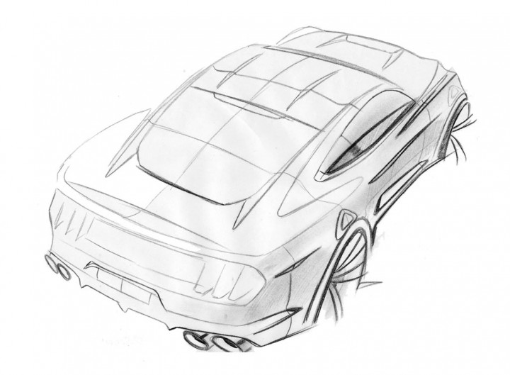 720x529 New 2015 Ford Mustang Sketches Surface
