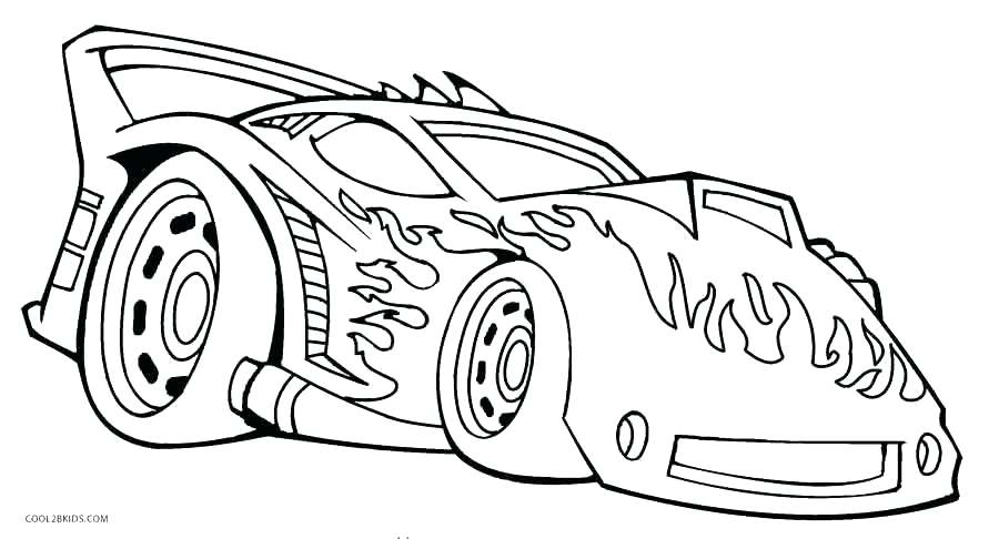 900x486 Car Coloring Pages Drawing Mustang