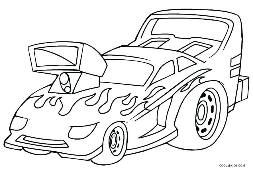 888x606 Simple Car Coloring Pages Best Of Vintage Ford Mustang Free