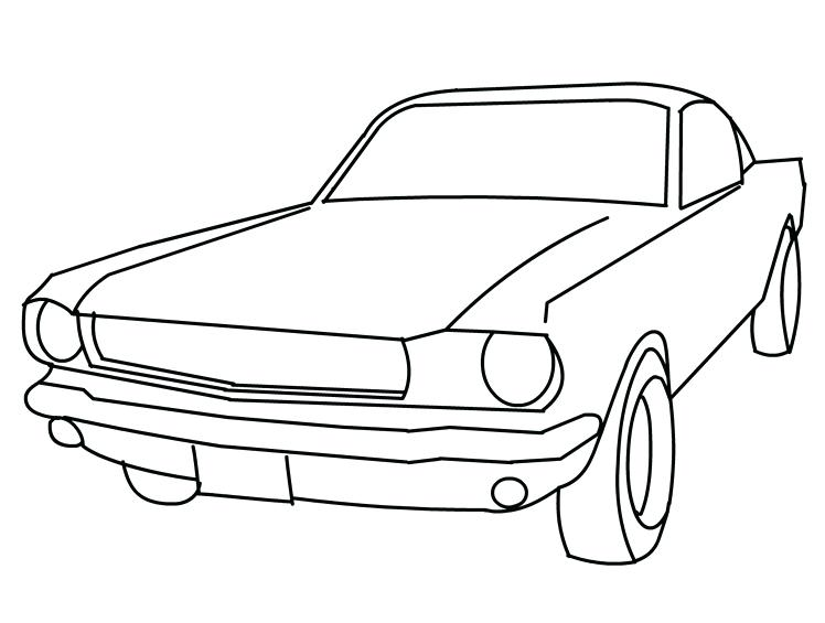 748x565 Mustang Car Coloring Pages Car Coloring Pages Drawing Mustang