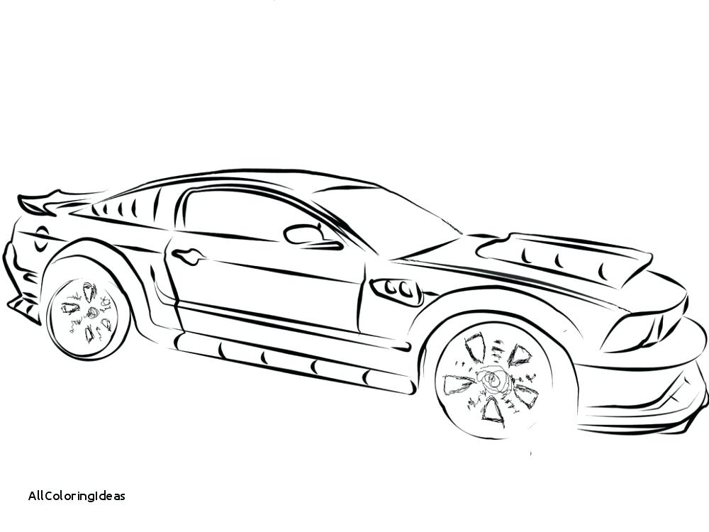 1000x750 Old Mustang Coloring Pages Drawing Car Best Place To Color Best