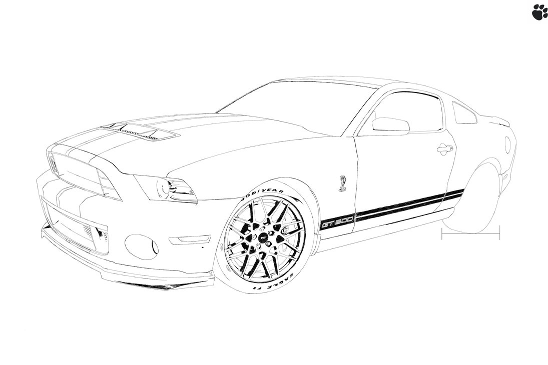 1095x730 Shelby Boss Mustang 302 (Unfinished.) By Tehpaws3d