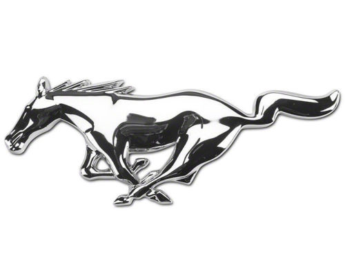 Mustang Emblem Drawing At Getdrawings Com