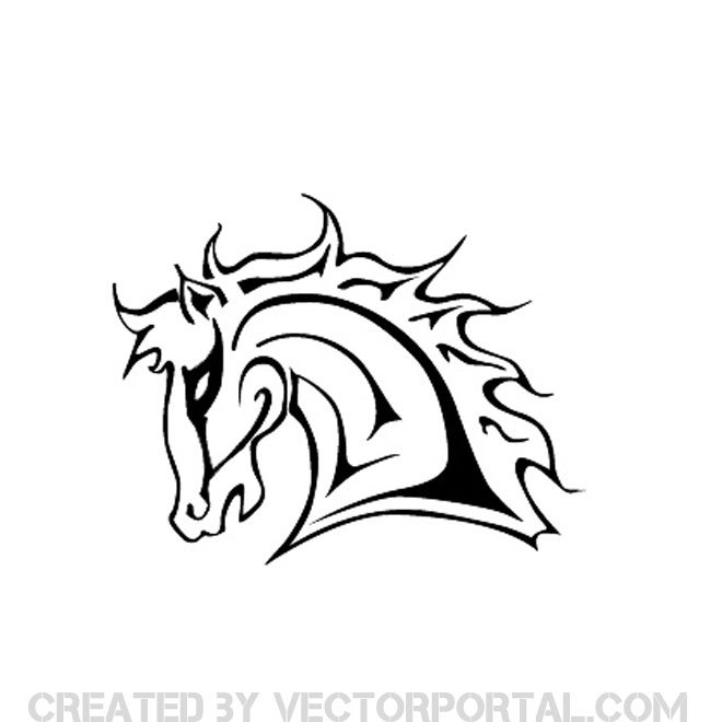 660x660 Horse Head Vectors Download Free Vector Art Amp Graphics