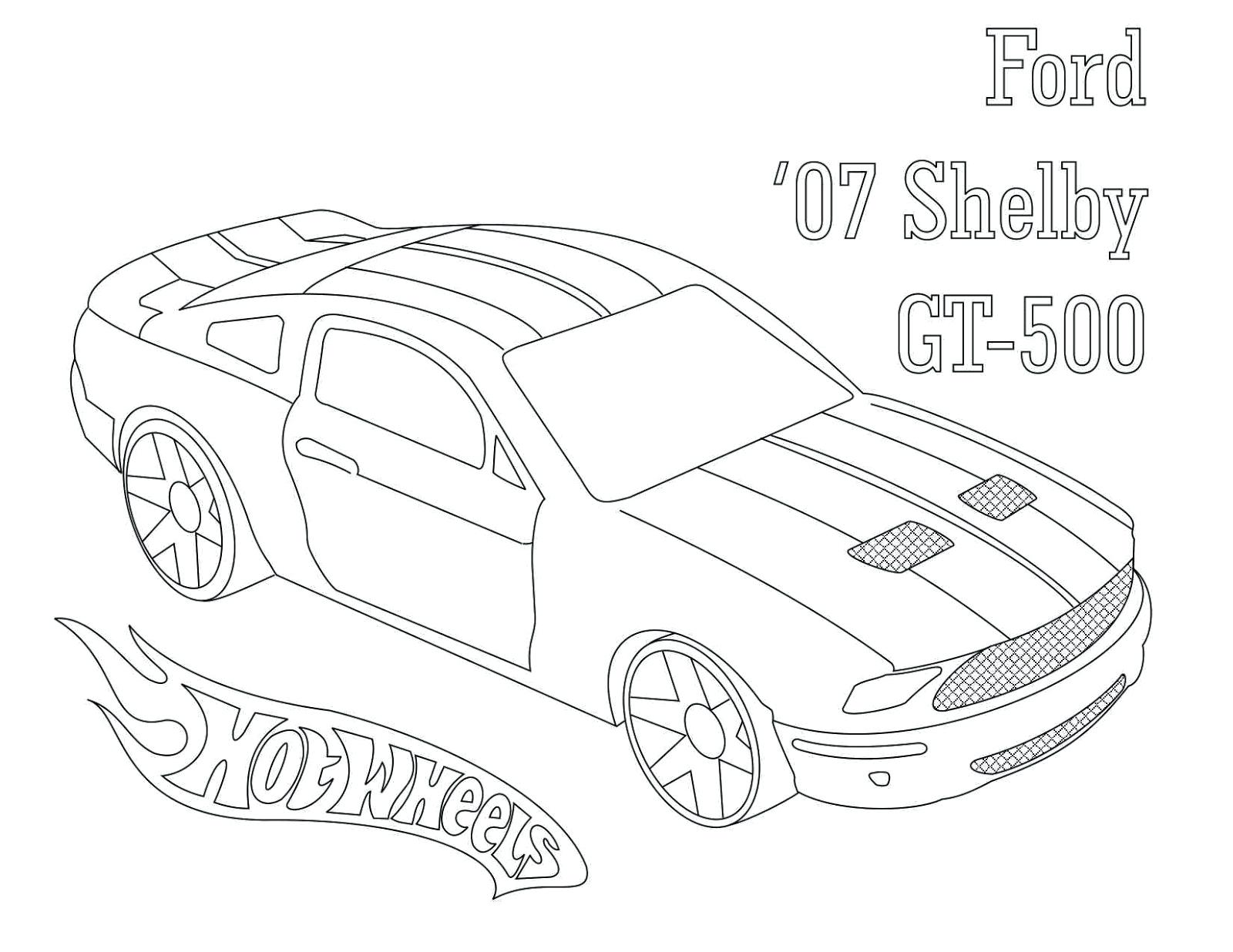 1600x1236 Coloring Ford Gt Coloring Pages Mustang Free Draw To Color. Ford