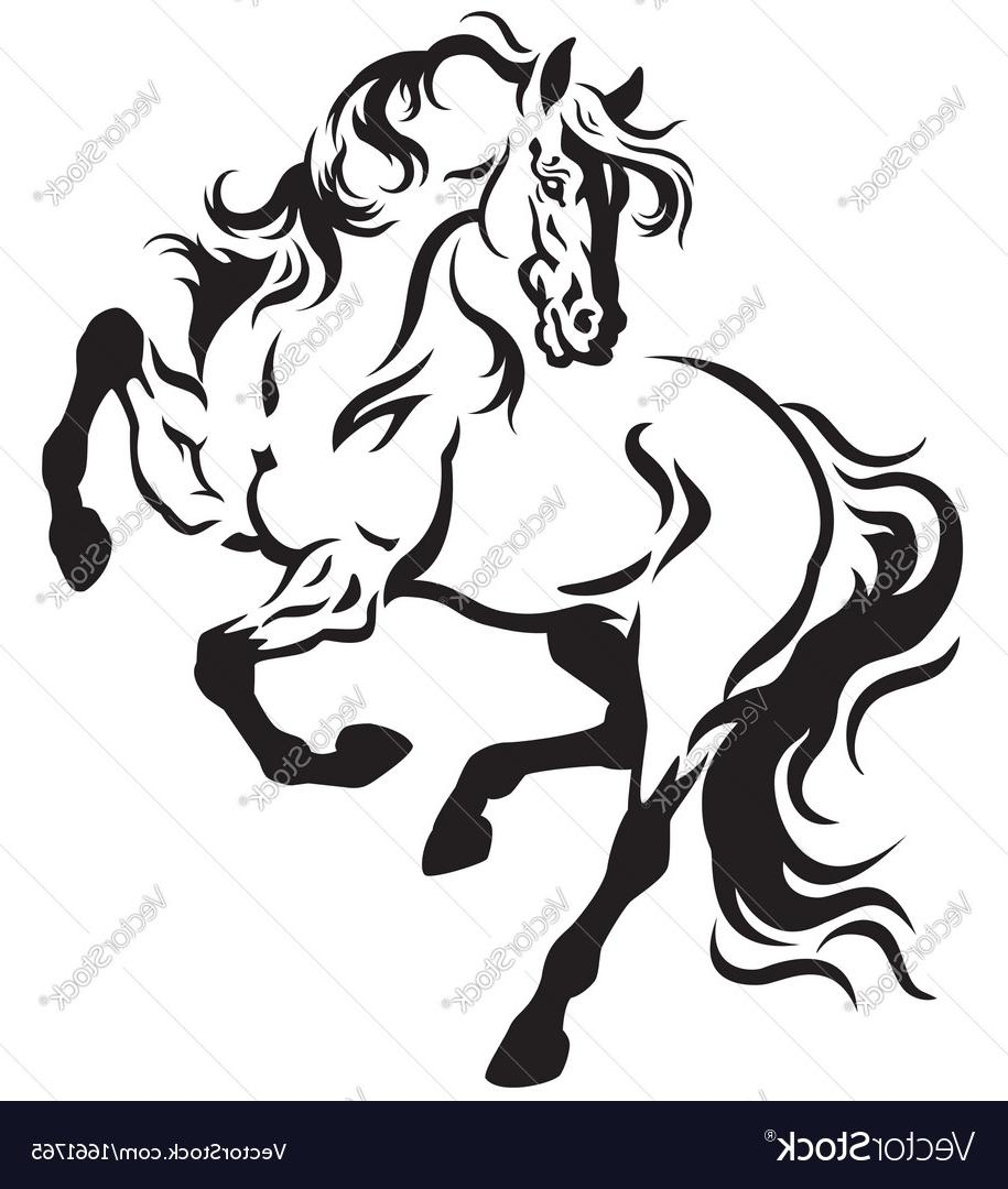 915x1080 Top 10 Horse Tattoo Vector Drawing