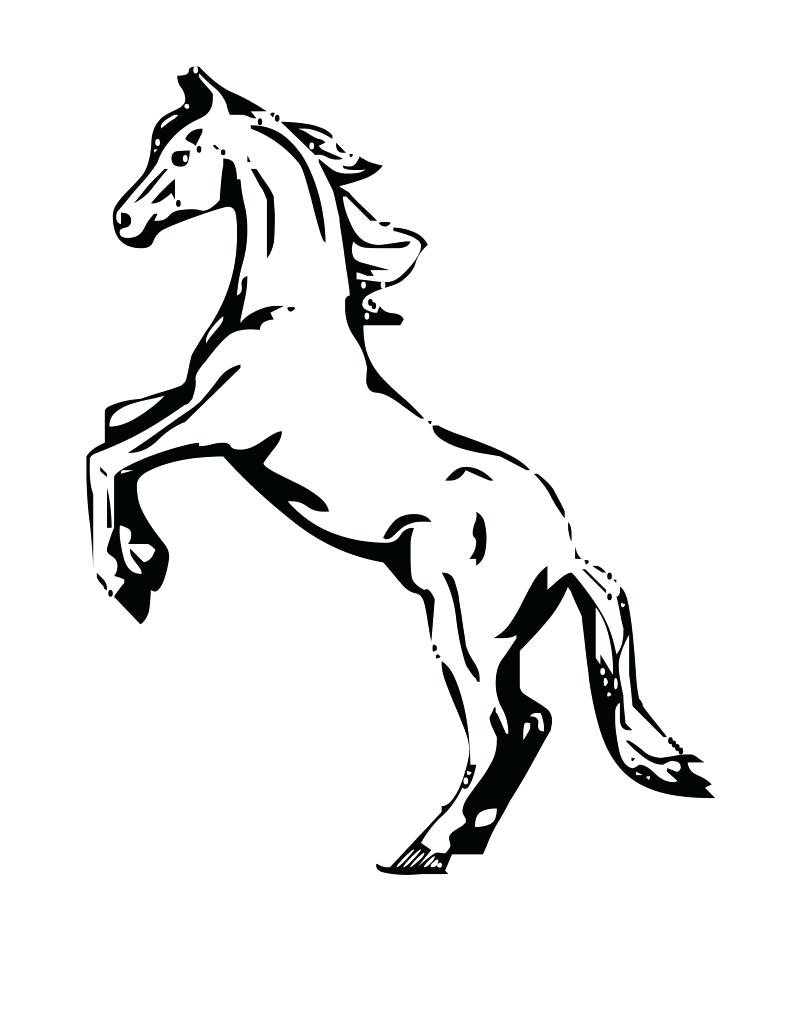791x1024 Coloring Horse Head Coloring Pages Silhouette Page. Horse Head