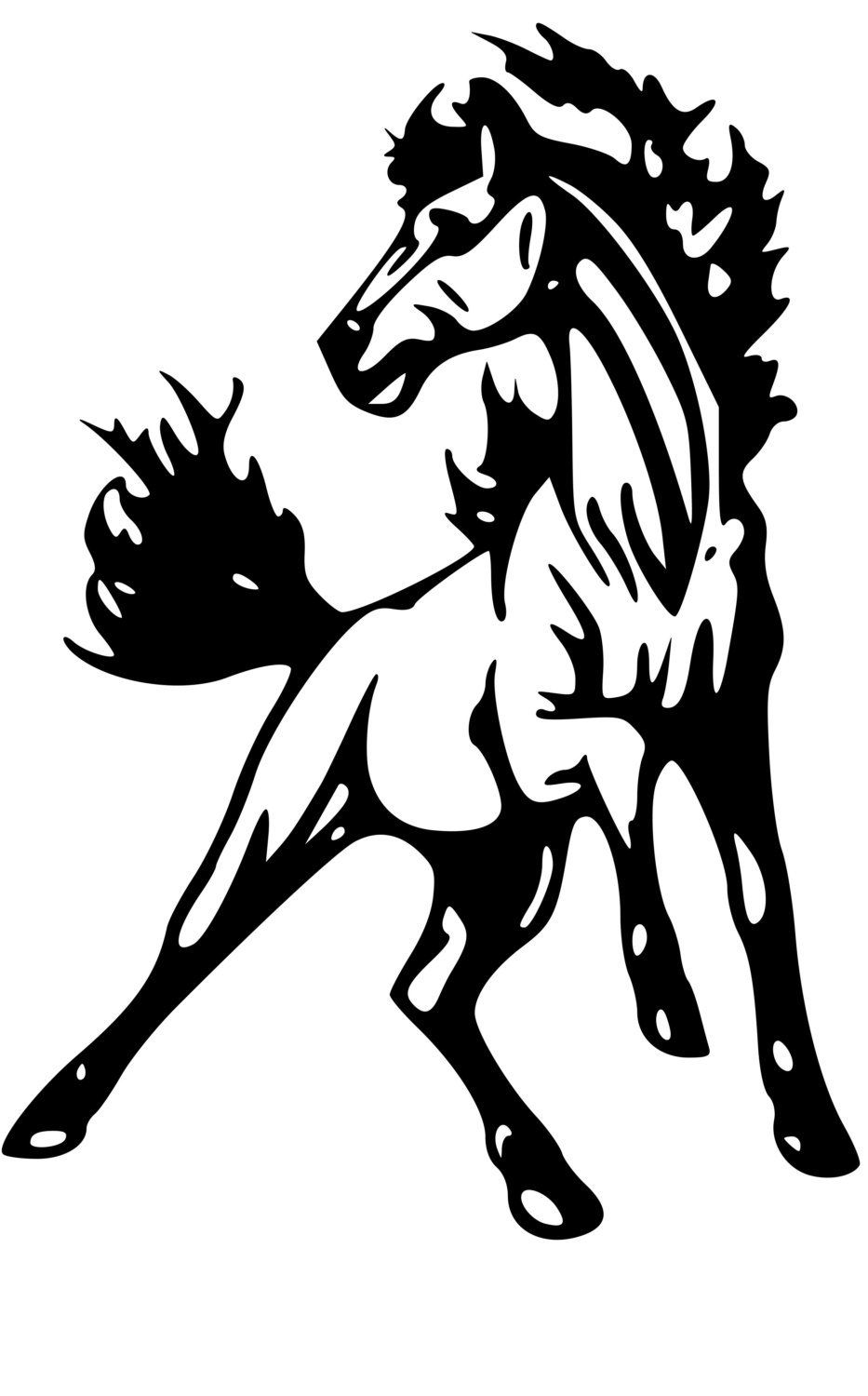933x1500 Horse Trailer Trailer Decal Horse Mustang Decal,horse Decal