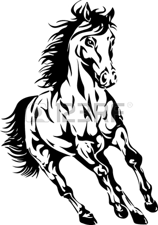 317x450 5,743 Mustang Stock Illustrations, Cliparts And Royalty Free
