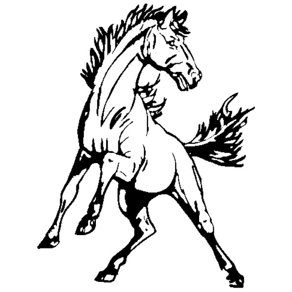 mustang horse line drawing at getdrawings com free for personal rh getdrawings com mustang horse head clipart Mustang Clip Art Mascot