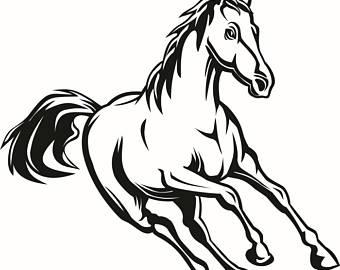 340x270 Stallion Svg Files Etsy