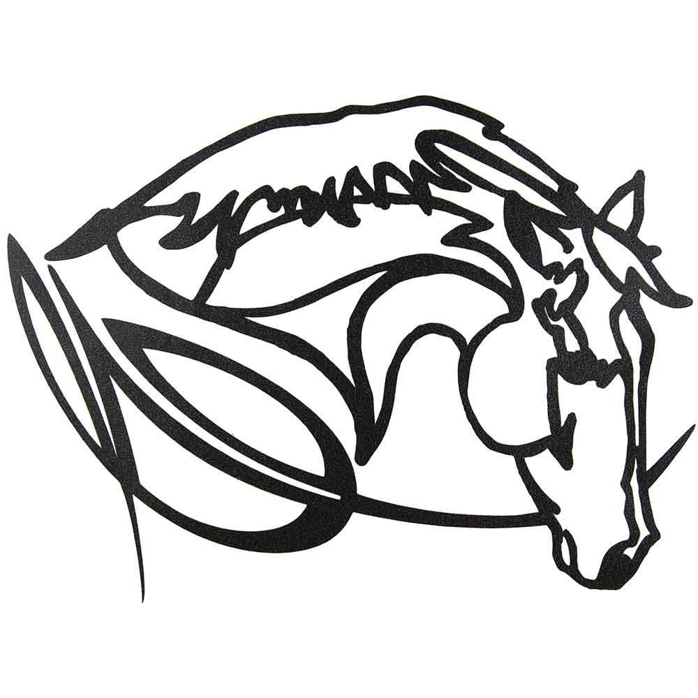 1000x1000 Teskey's Saddle Shop Western Graphics Mustang