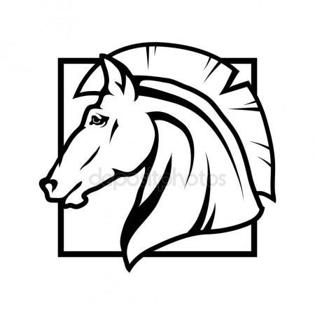 450x450 Wolf Logo, Illustration Stock Vector