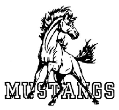 400x371 Mustang Animal Clipart