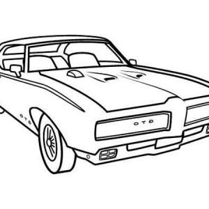 300x300 Classic Mustang Clip Art
