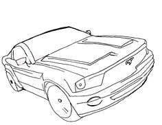 236x182 Printable Mustang Coloring Pages For Kids Cool2bkids Car