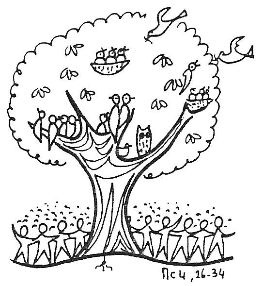 543x589 Mustard Seed Tree Clip Art Parable Of The Mustard Seed Coloring